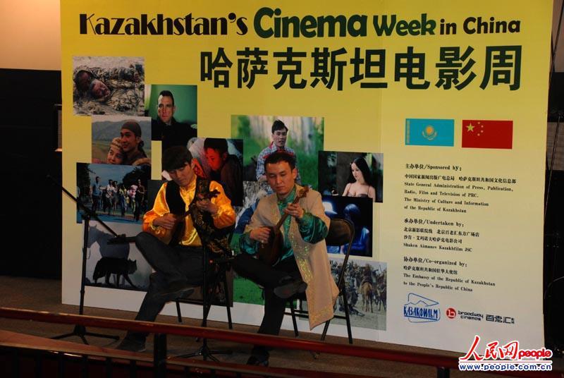 王学兵担任哈萨克斯坦北京电影周形象大使