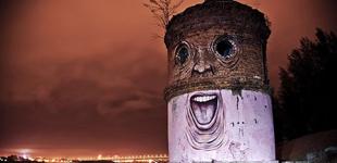 俄罗斯境内的人脸建筑――惊悚还是搞笑?