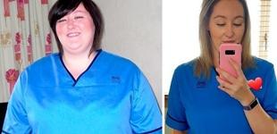 瘦身=变身?励志的减肥前后对比图