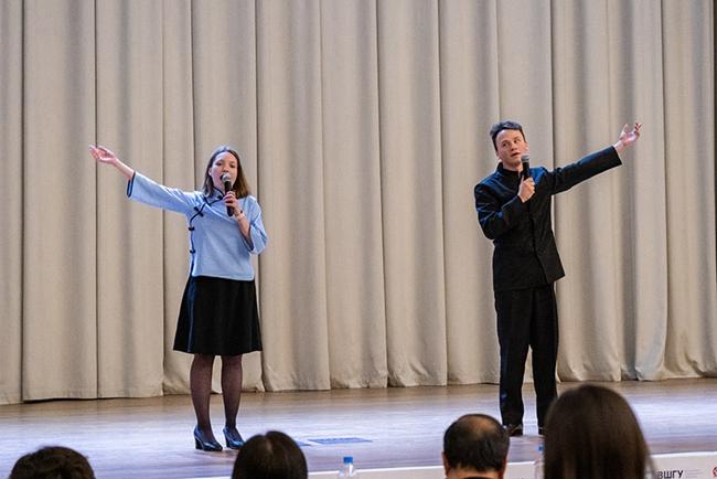 第二届俄罗斯校际中文诗歌朗诵比赛在莫斯科举行